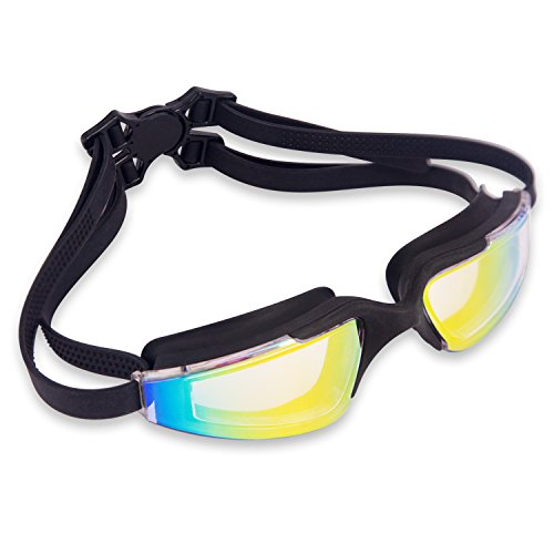 Swim Goggles, JEFlex Leak-Proof Anti-fog UV Protection Swimming Goggle Unisex