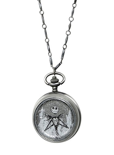The Nightmare Before Christmas Jack Skellington Snow Globe Watch Necklace (Television Snow Globe)