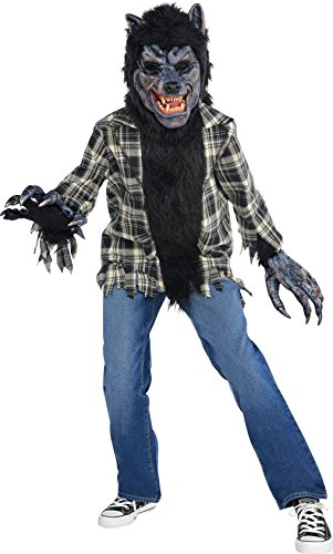 Amscan Rabid Werewolf Halloween Costume for Boys, Large, with Included Accessories