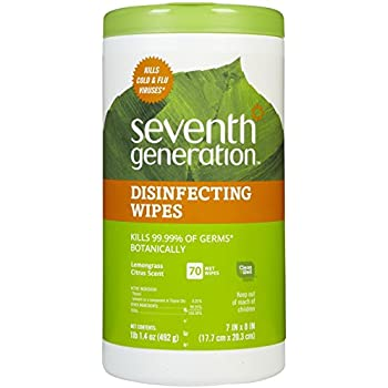 Seventh Generation Disinfecting Wipes - 70 ct
