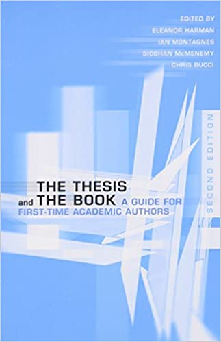 Convert phd thesis into book