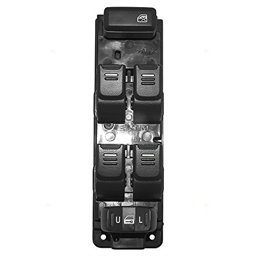 Drivers Front Power Window Master Switch Replacement for Chevrolet GMC Isuzu Hummer Pickup Truck SUV 8-25779-767-0