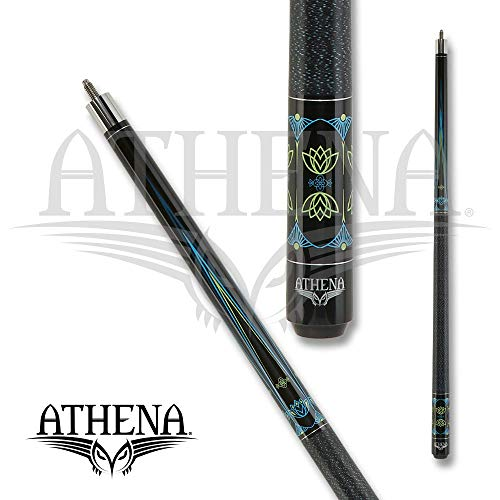 Athena Blue & Lime Green Accents-ATH50 Pool Cue, 21.0oz