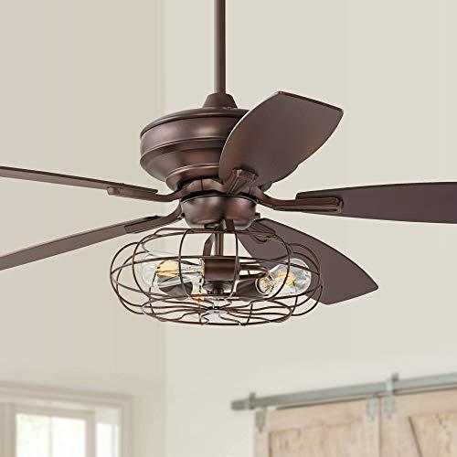 Vieja Fan Casa Ceiling Brushed - 52
