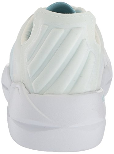 K-swiss Mujeres Functional Sneaker White / Blue Heaven