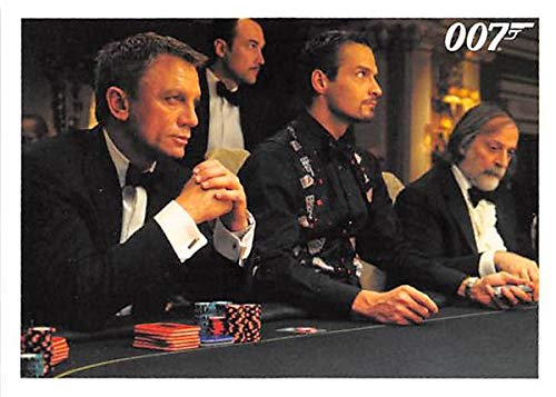 Daniel Craig trading card Poker Game Casino Royale 007 James Bond #051 from Autograph Warehouse