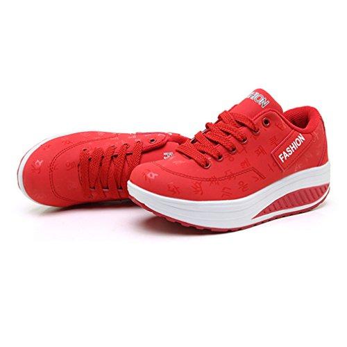 LFEU Rosso Sneaker Donna Rosso LFEU Sneaker LFEU Donna LFEU Rosso Sneaker Donna Donna Sneaker xUwAZ6B
