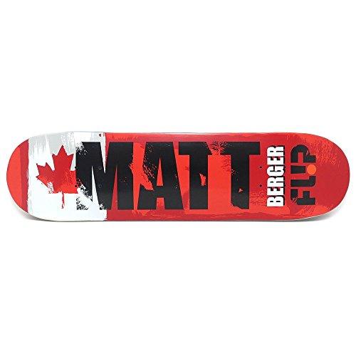 共産主義者分析旋回FLIP DECK フリップ デッキ MATT BERGER INTERNATIONAL 8.0 スケートボード スケボー SKATEBOARD