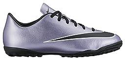 Nike Youth Mercurial Victory V Turf Shoes [URBAN LILAC/BRIGHT MANGO/BLACK] (11.5C)