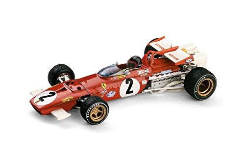 Ferrari 312B G.P. Italia 1970 Jacky Ickx #2 Model Car in 1:43 Scale by Brumm 1970 Ferrari