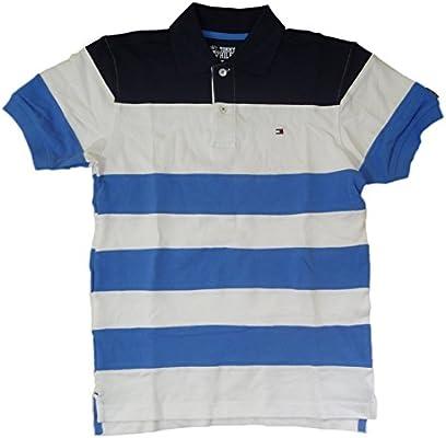 Tommy Hilfiger para niño Polo T-camiseta con logotipo bandera de ...