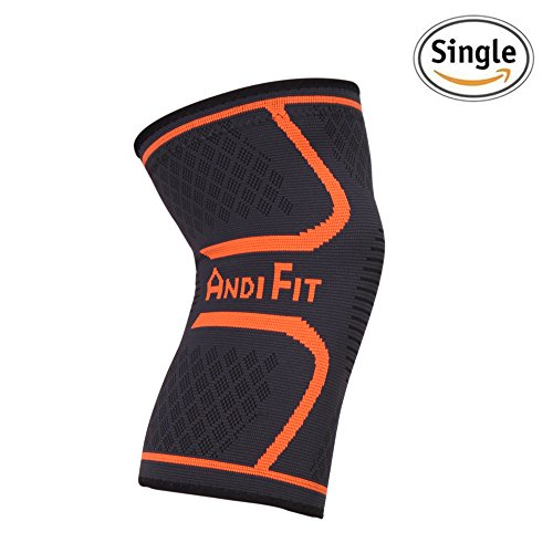 Knee Compression Sleeve - Improves your Circulation for Relief of Joint Pain, Arthritis, and Injury Recovery - Effective Knee Support for Running, Working Out, Walking, Hiking and Jogging (Small)