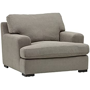 Amazon Com Ashley Keereel Fabric Accent Chair And A Half