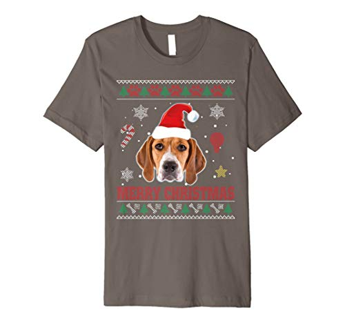 Treeing Walker Coonhound Dog Santa Ugly Costume Xmas