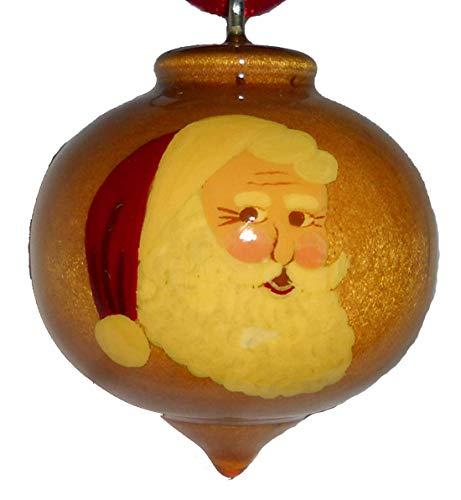 Santa Claus Portrait Christmas Ornament (Claus Portrait Santa)
