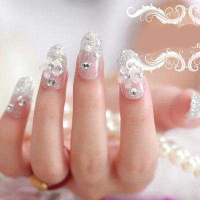 Makartt Uñas postizas de acrílico transparente, forma ovalada, 10 tamaños, longitud perfecta para salones de manicura y manicura en casa, ...