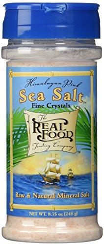 Funfresh Foods Real Food Trading Company Himalayan Pink Sea Salt, 8.75-Ounce (Pack of 3) ()