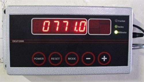 Moderne Electronics Digit2000 Digital Backgauge indicator, Megr 2050