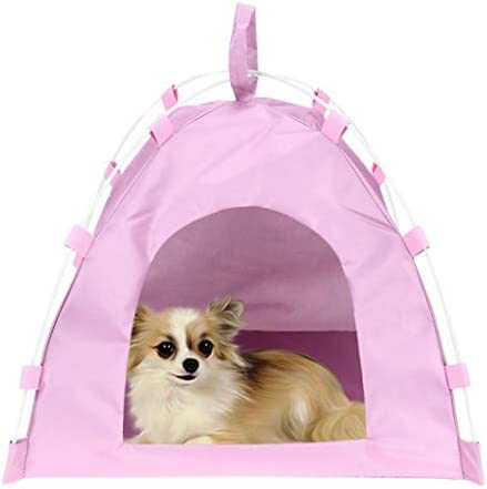 dalina 15.7 inch Summer Cat Dog Tent Waterproof Tent Beds for Puppy Dog and Cat for Doll Pet Supplies