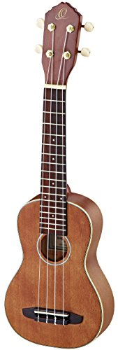 Ortega Guitars RU10L RU Series Left Handed Soprano Ukulele with