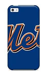 XiFu*MeiSlim Fit Tpu Protector Shock Absorbent Bumper New York Mets Case For ipod touch 4XiFu*Mei
