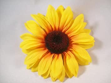 Amazon sunflower hair clip 45 inches beauty sunflower hair clip 45 inches mightylinksfo