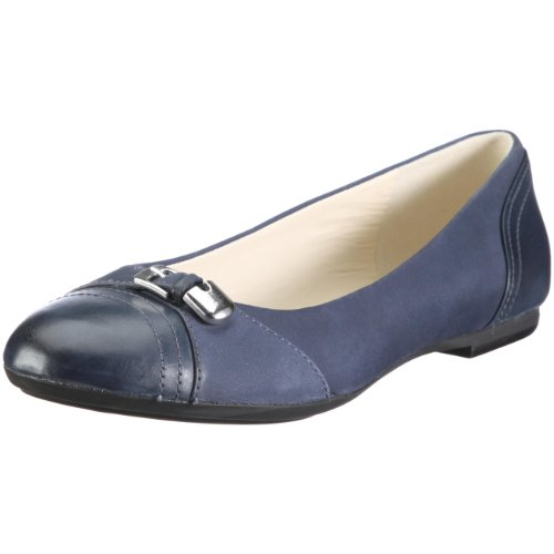 Guenda para Bailarinas de Geox Azul Donna cuero nobuck Textil D11R5H0DPLCC4002 mujer qwA8Ug