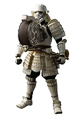 "Bandai Tamashii Nations ""Star Wars"" Meisho Movie Realization Taikoyaku Stormtrooper Action Figure"