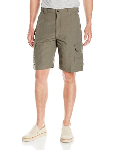 Wrangler Authentics Performance Cargo Short,  Weimaraner Brown, 34 ()