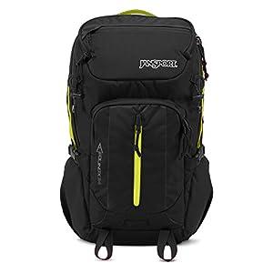 Jansport - EQUINOX 34 Backpack - BLACK/LIME PUNCH