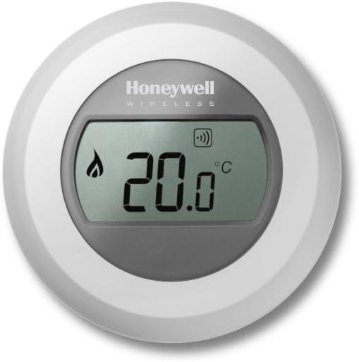 Honeywell T87RF2033- Termostato para zona única Evohome, color blanco