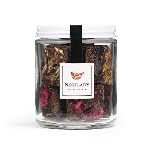NestLady 缓解痛经 黑糖 Four flavors of handmade flowers herbal brown sugar 150g