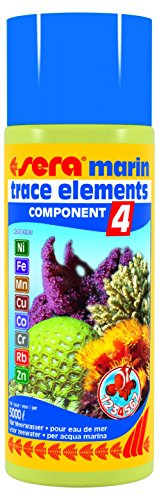 sera Marin Component 4 Trace Elements Kationics 500 Ml, 16.9 fl.oz Aquarium Treatments (Sera Component Marin)