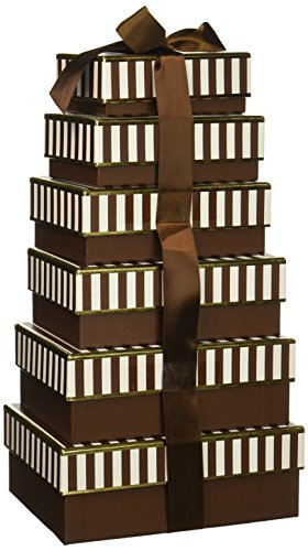 California Delicious Decadent and Delicious Chocolate Gift Tower