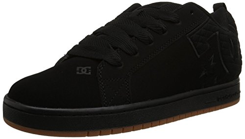 DC Men's Court Graffik SE Skateboarding Shoe, Black 1, 40.5 D(M) EU/7 D(M) UK