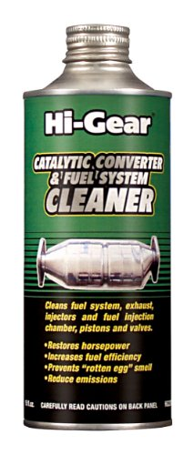 Hi-Gear HG3270e EZ Emissions Pass & Catalytic Converter Cleaner, 15 fl. oz.