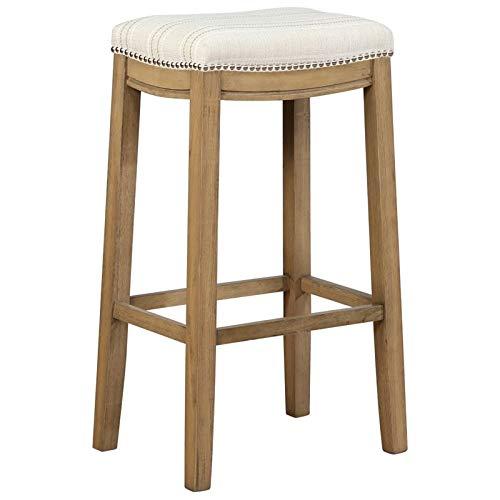 Tremendous Amazon Com Linon Claridge 30 Upholstered Bar Stool In Andrewgaddart Wooden Chair Designs For Living Room Andrewgaddartcom