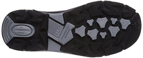 MTS M-Gecko Baxter S3 Flex 16101 Unisex-Erwachsene Sicherheitsschuhe Schwarz (Schwarz)