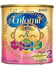 Enfamil Pro A+ Stage 2 PWD Infant Milk Formula, 6 months onwards, 400g