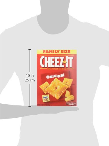 Cheez-It Baked Snack Crackers - Family Size Original - 21 oz