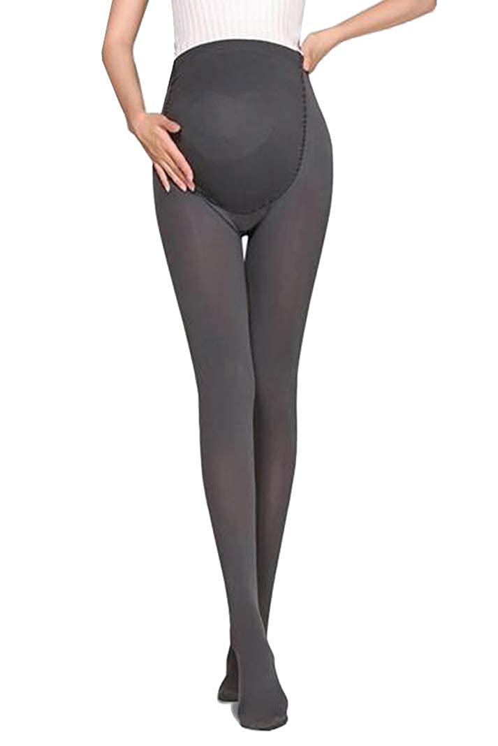 Bllatta Medias Invernales Premama Panty para Futura Mama Pantimedias para Mujeres embarazadas Leggings 200D