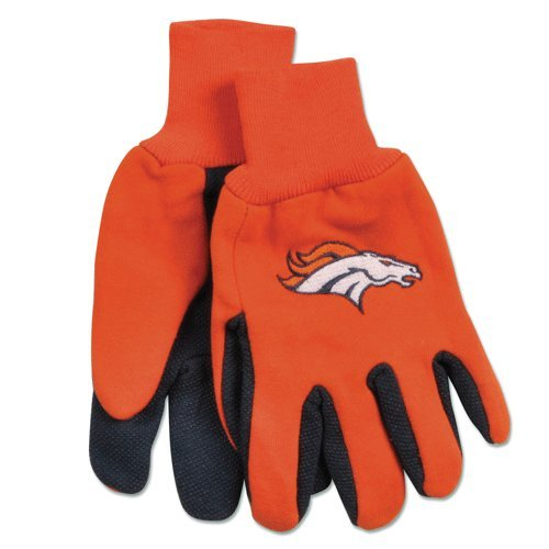 - Denver Broncos Gloves - Adult Two Tone