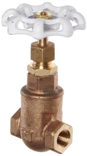 - Milwaukee Valve UP105 Series Bronze Gate Valve, Potable Water Service, Non-Rising Stem, 1-1/4