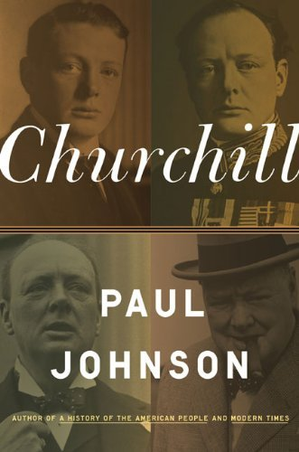 Churchill by Paul Johnson (2009-11-03)