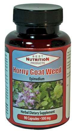 Horny Goat Weed (500mg - 90 Capsules)