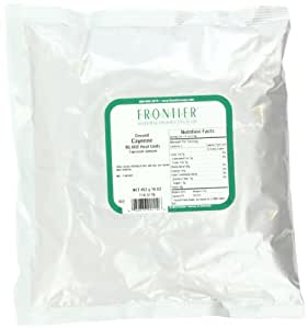 Frontier Chili Peppers Ground, Cayenne 90, 000 Hu, 16 oz Bags, 2 pk