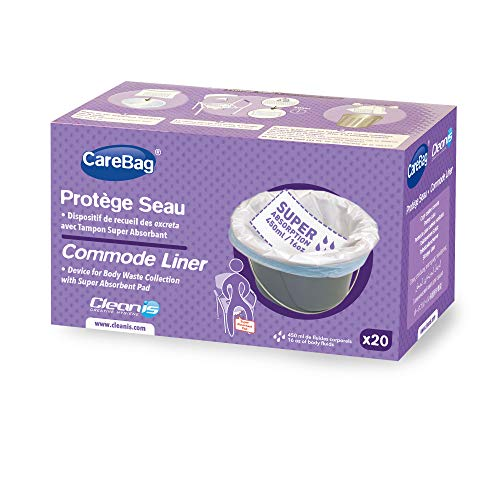 Carebag Commode Liners with