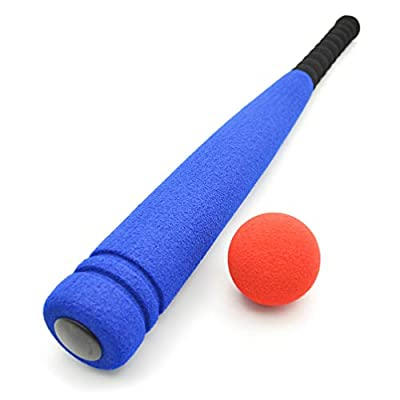 BESPORTBLE Foam Baseball Bat and Ball for Gifts Sports Game Toy Baseball Kit - Indoor Soft Super Safe T Ball Bat Toys Set for Kids, Best Gift for Children, 20 inch: Sports & Outdoors