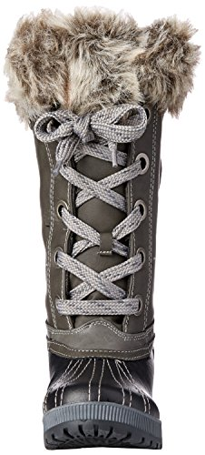 Black up Boot Lace Snow Women's Grey Marlon Sugar tYx6g6