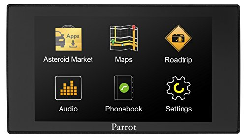 (Parrot Asteroid MINI – In-car multimedia system with Apps, Music and Bluetooth hands-free)